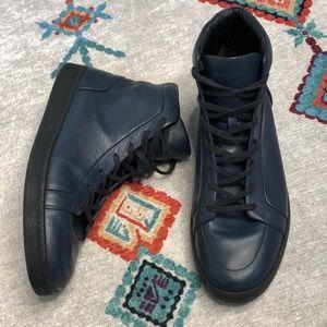 Balenciaga Leather Hi top sneakers